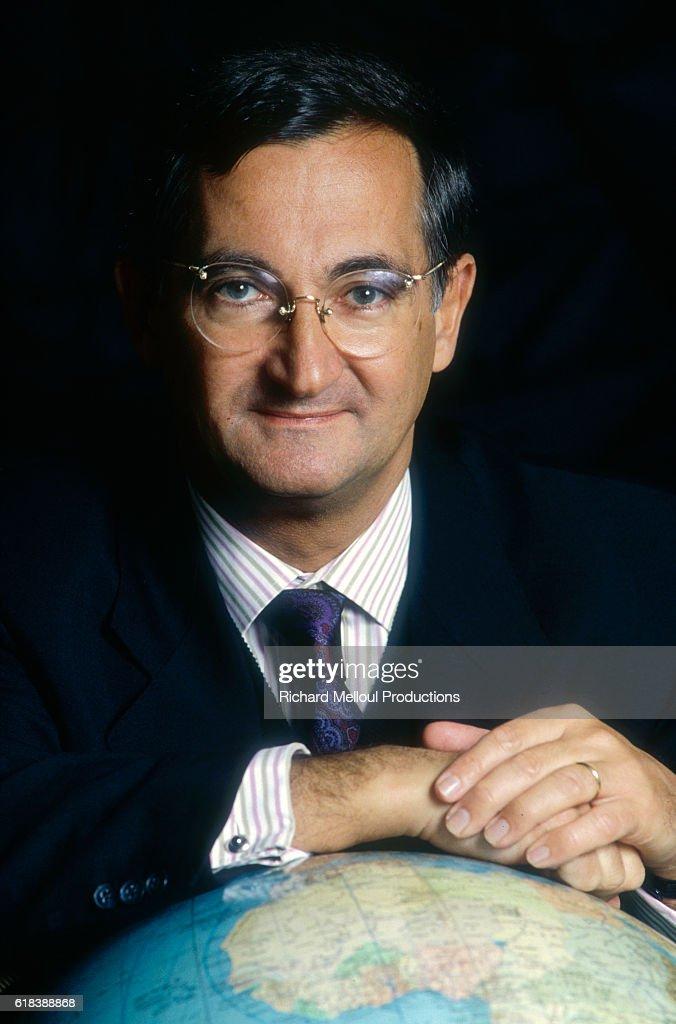 Air France CEO Bernard Attali : Photo d'actualité