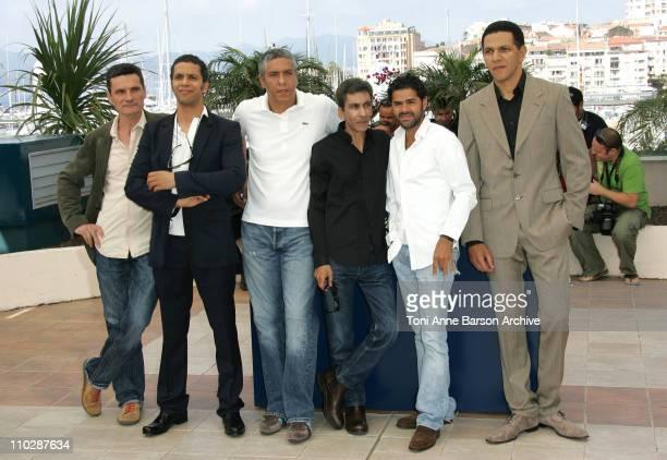 Bernard Blancan Sami Bouajila Samy Naceri Rachid Bouchareb Jamel Debbouze and Roschdy Zem