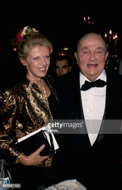 Bernard Blier and wife Annette
