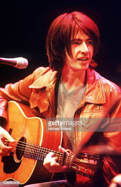 Bernard Butler performs on stage at a tribute to Nick Drake concert The Barbican London 25th September 1999
