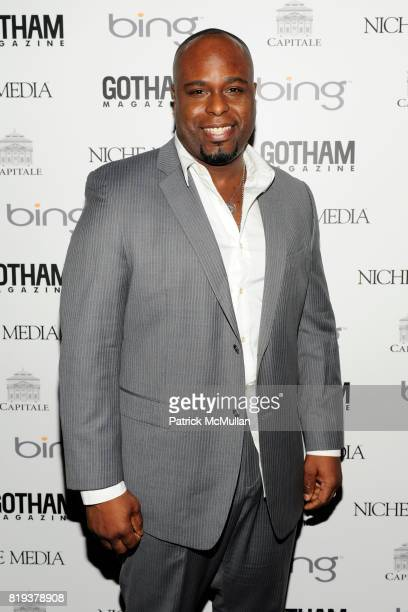 J Bernard Calloway attends ALICIA KEYS Hosts GOTHAM MAGAZINES Annual Gala Presented by BING at Capitale on March 15 2010 in New York City