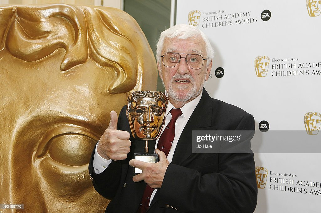Bernard Cribbins with the Special Award poses in the press room at the 'EA British Academy Children's Awards 2009' at The London Hilton on November 29, 2009 in London, England.