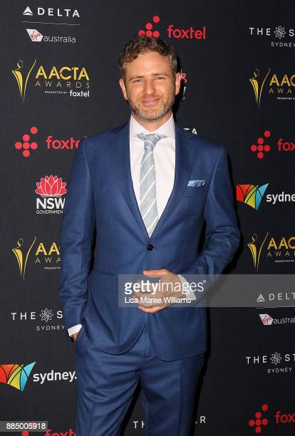 Bernard Curry attends the 7th AACTA Awards Presented by Foxtel | Industry Luncheon at The Star on December 4 2017 in Sydney Australia