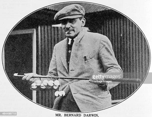 Bernard Darwin , English, 1936. Seen here with the President's putter, from Golf Monthly, 1936. Darwin was captain of the Royal and Ancient Golf Club...