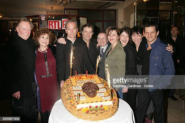 Bernard Dheran Claire Maurier Laurent Baffie Daniel Russo Francis Nani Sophie Mounicot Zoe Nonn Marie Cuvelier and Yvon Martin attend the 100th...