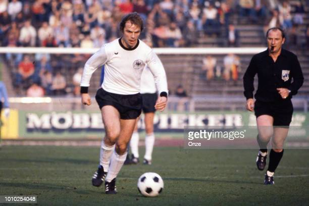 Bernard Dietz of Germany FR during the International Friendly match between Germany RF and Italy at Berlin Germany on October 8th 1977