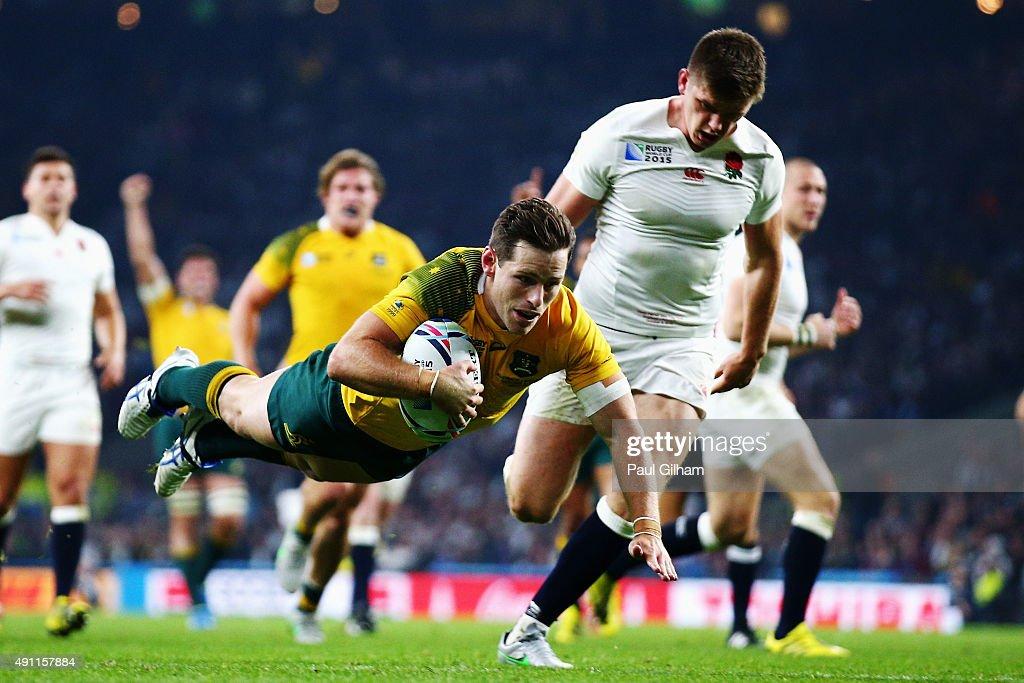 England v Australia - Group A: Rugby World Cup 2015 : News Photo