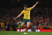 cardiff wales bernard foley australia kicks
