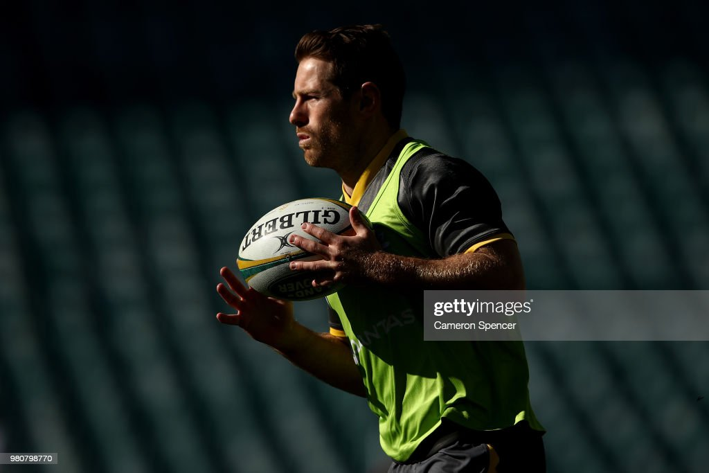 Wallabies Captain's Run