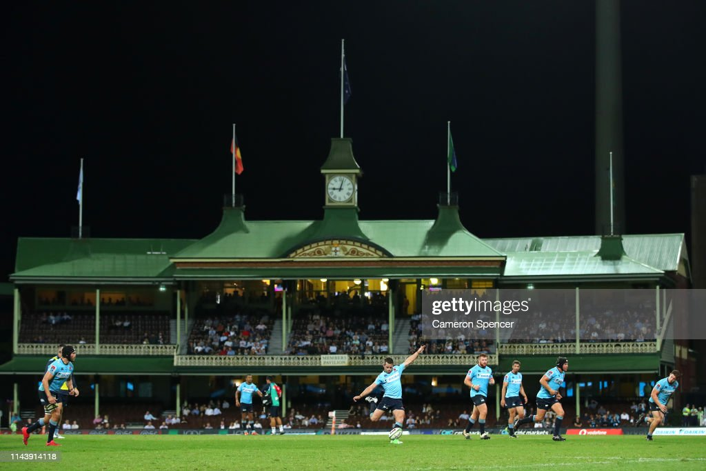 Super Rugby Rd 10 - Waratahs v Rebels : News Photo