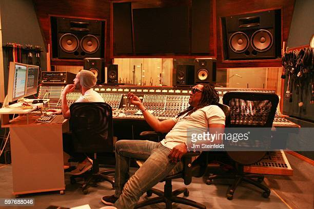 Bernard Fowler recording session at Steakhouse Studio in Los Angeles California on July 25 2016