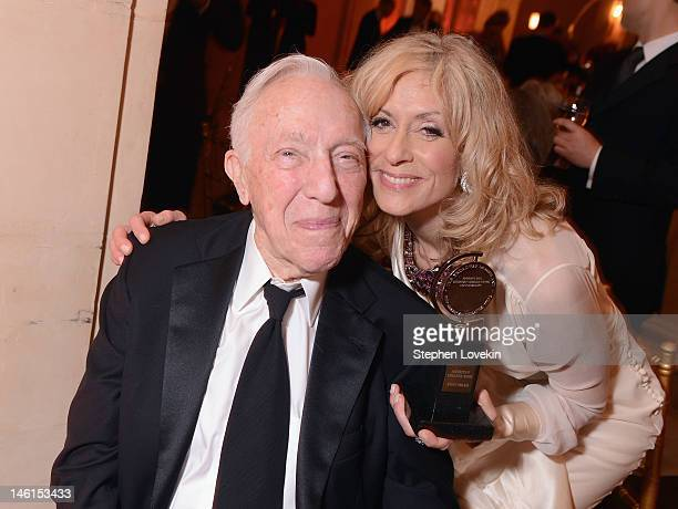 Bernard Gersten and Judith Light winner for Best Featured Play Actress for 'Other Desert Cities' attend the 66th Annual Tony Awards after party at...