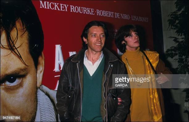 Bernard Giraudeau and Annie Duperey premiere 'Angel Heart' 1987