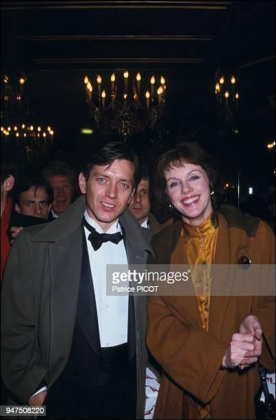 Bernard Giraudeau Annie Duperey 1985