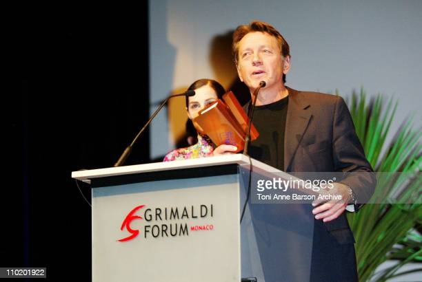 Bernard Giraudeau during International Forum of Cinema Literature Award Ceremony Show at Grimaldi Forum in Monte Carlo Monaco