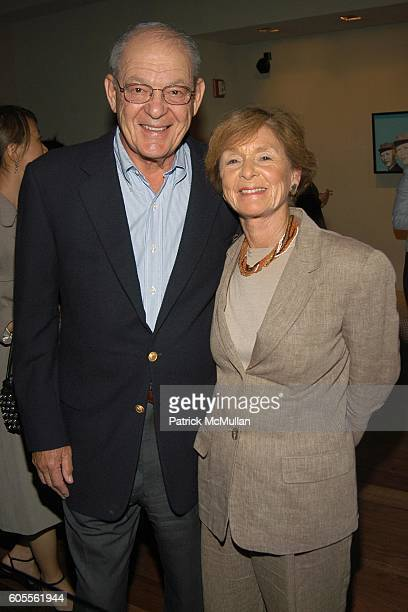 Bernard Greenspan and Marilyn Greenspan attend CHAMBERS HOTEL Cocktail Party Celebrating Asian Contemporary Art Week with cohosts PHILLIPS de PURY...