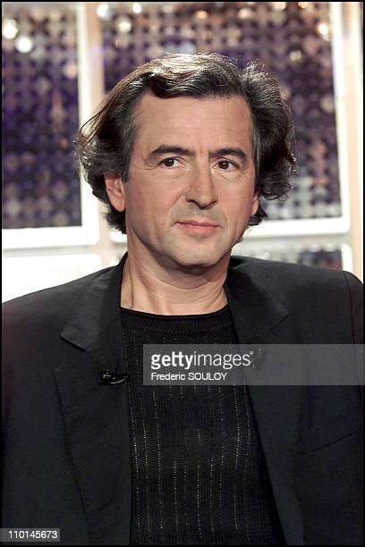 Bernard Henri Levy is French philosopher in France in November 2001
