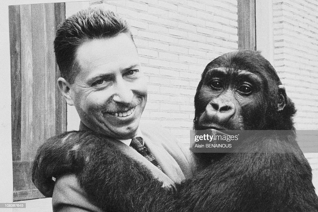 Bernard Heuvelmans, Crypto Zoologist, In France On February 01, 1993. : News Photo