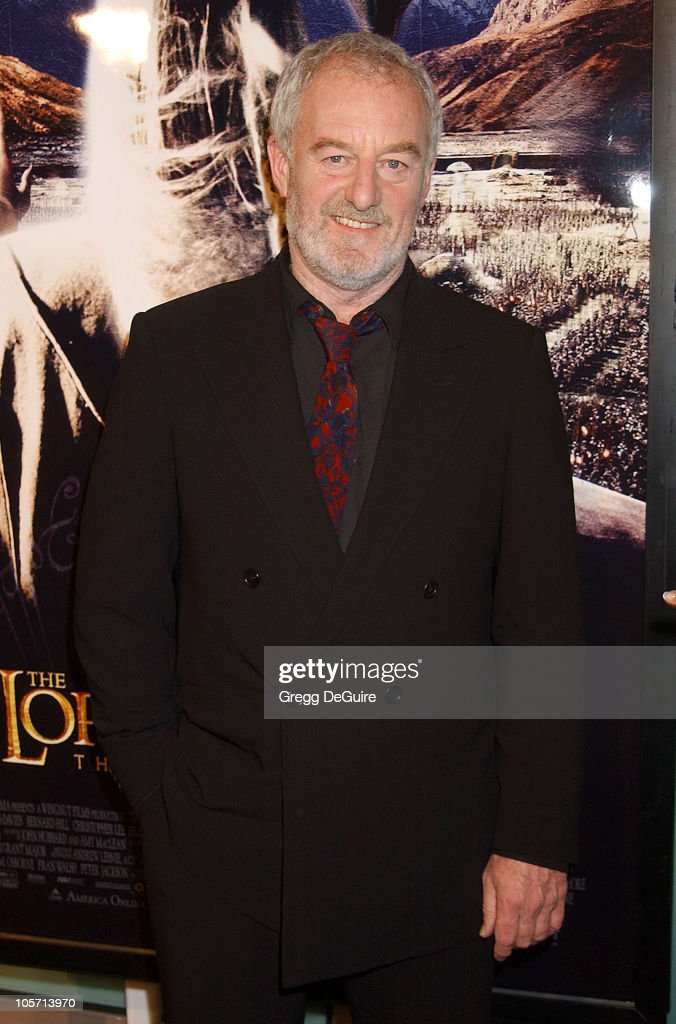 Bernard Hill during 'The Lord Of The Rings: The Two Towers' Los Angeles Premiere - Arrivals at Cinerama Dome Theatre in Hollywood, California, United States.