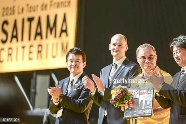 Bernard Hinault, a French former cyclist who won the Tour de France five times, says Goodbye to the Tour ahead of the race, at the fouth edition of...