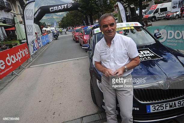 Bernard Hinault during Stage Six of the Tour de l'Avenir on Friday 28 August Saint Michel de Maurienne, France.