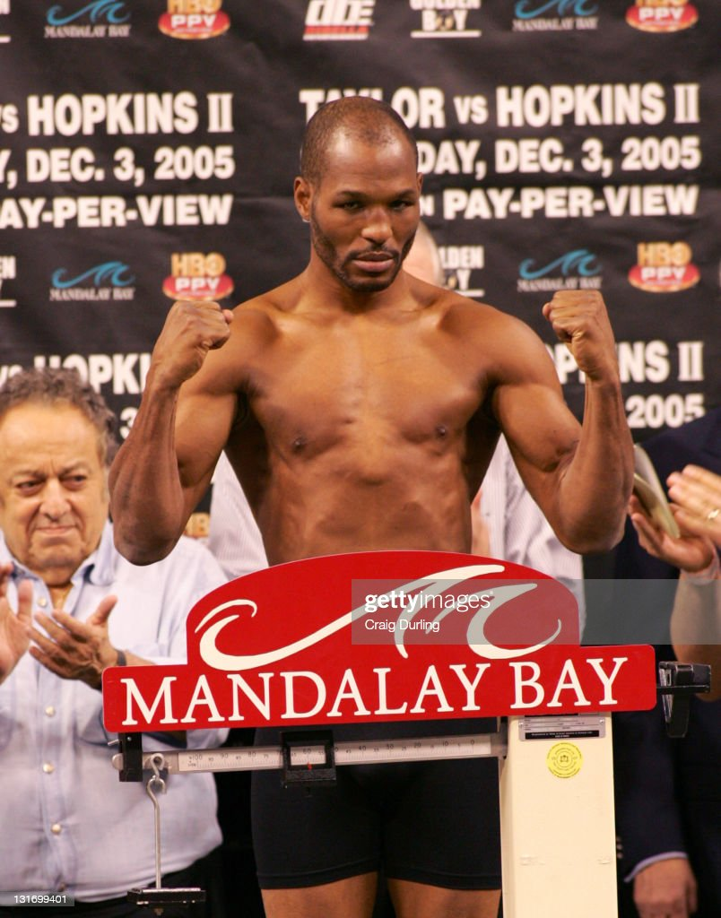 Boxing - World Middleweight Championship - Weigh-in - Jermaine Taylor vs