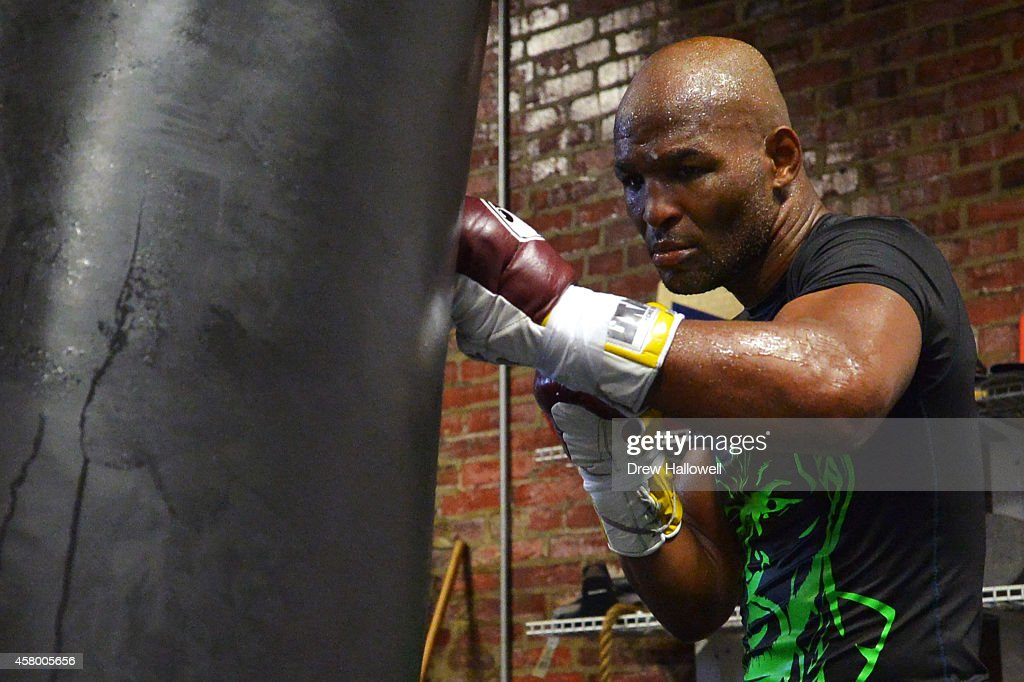 Bernard Hopkins Media Workout : News Photo