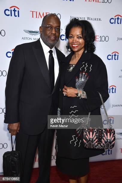 Bernard J Tyson and Denise BradleyTyson attend 2017 Time 100 Gala at Jazz at Lincoln Center on April 25 2017 in New York City