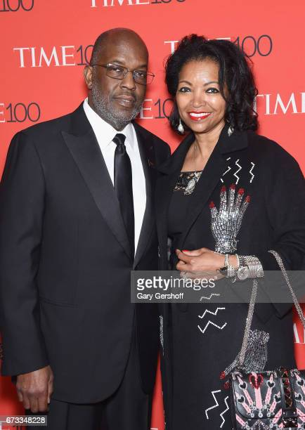 Bernard J Tyson and Denise BradleyTyson attend the Time 100 Gala at Frederick P Rose Hall Jazz at Lincoln Center on April 25 2017 in New York City
