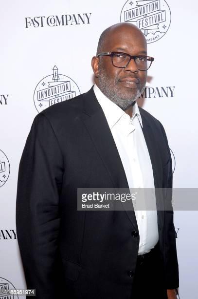 Bernard J Tyson attends the Fast Company Innovation Festival Day 2 Arrivals on November 06 2019 in New York City