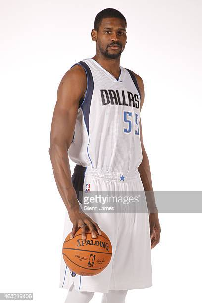Bernard James of the Dallas Mavericks poses for a photo on March 2 2015 at the American Airlines Center in Dallas Texas NOTE TO USER User expressly...