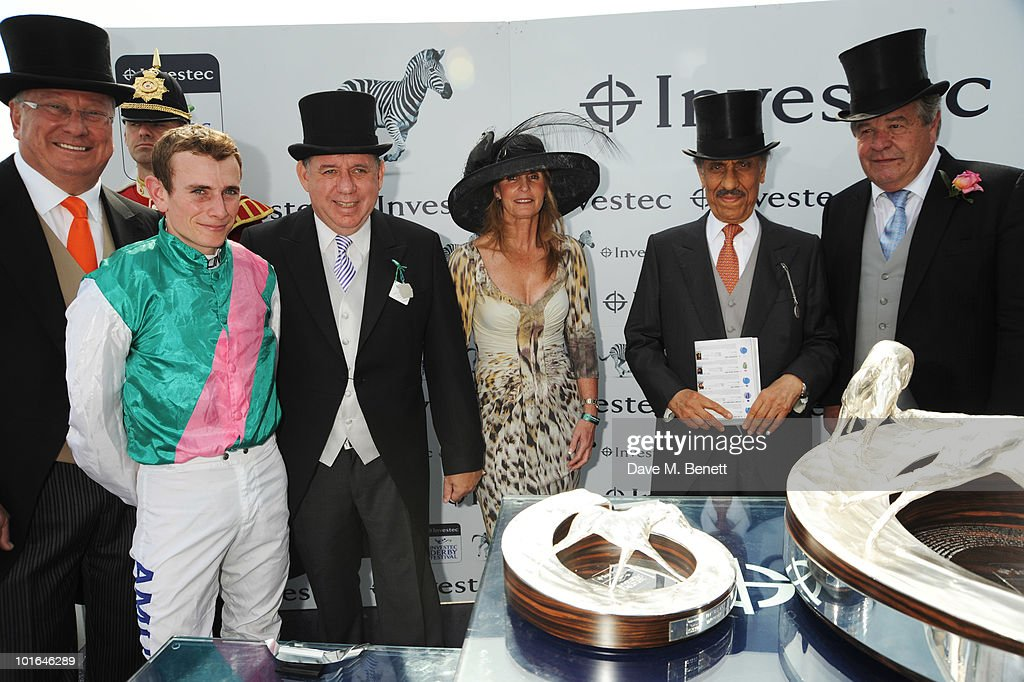 Investec Derby Day Lunch : News Photo