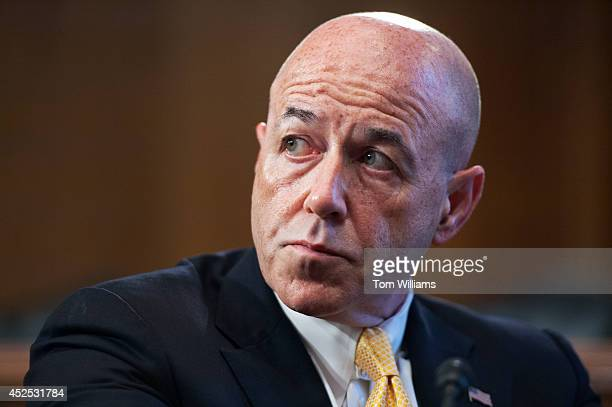 Bernard Kerik, former New York City police commissioner, attends a discussion in Dirksen Building on restoring federal voting rights to citizens who...