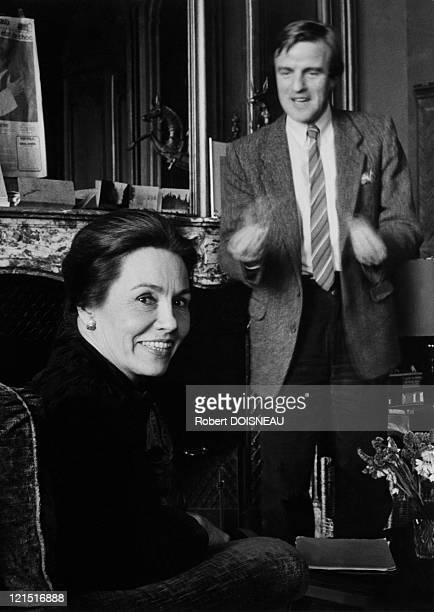 Bernard Kouchner And Marie France Garaud 1985