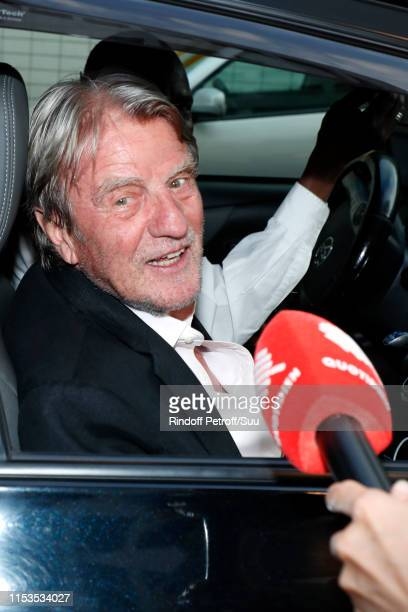 Bernard Kouchner attends Albert Koski exposes its RockRoll Posters Collection at Galerie Laurent Godin on June 03 2019 in Paris France