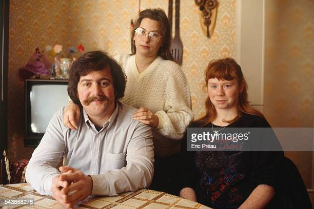 Bernard Laroche with his wife MarieAnge Laroche and his sisterinlaw Murielle Bolle Bernard Laroche is the first cousin of JeanMarie Villemin father...