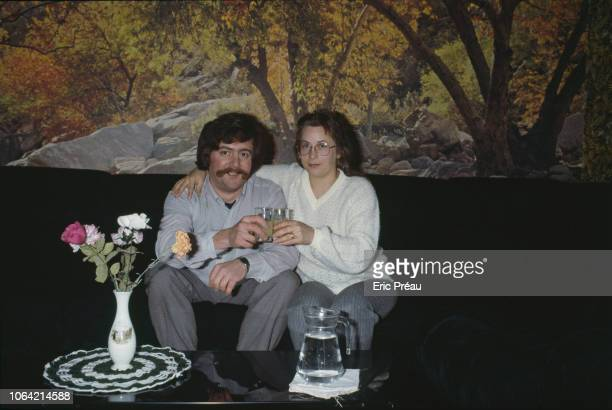 Bernard Laroche with his wife MarieAnge Laroche Bernard Laroche is the first cousin of JeanMarie Villemin father to fouryearold Gregory who was found...