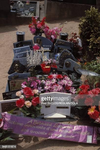 Bernard Laroche's grave
