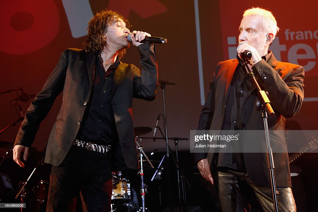bernard lavilliers and cali perform on stage during the