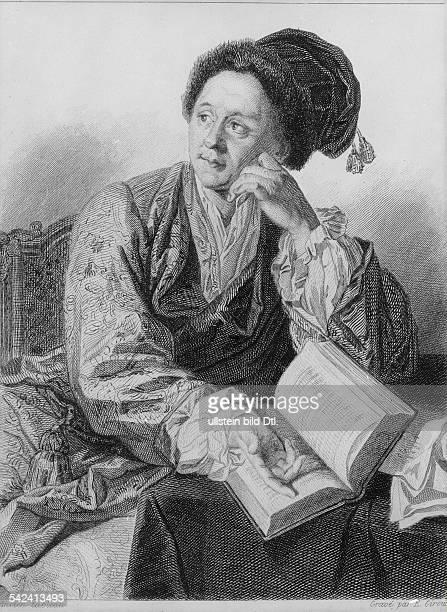 Bernard Le Bovier de Fontenelle*1102165709011757Writer philosopher FranceEngraving by E Giroux