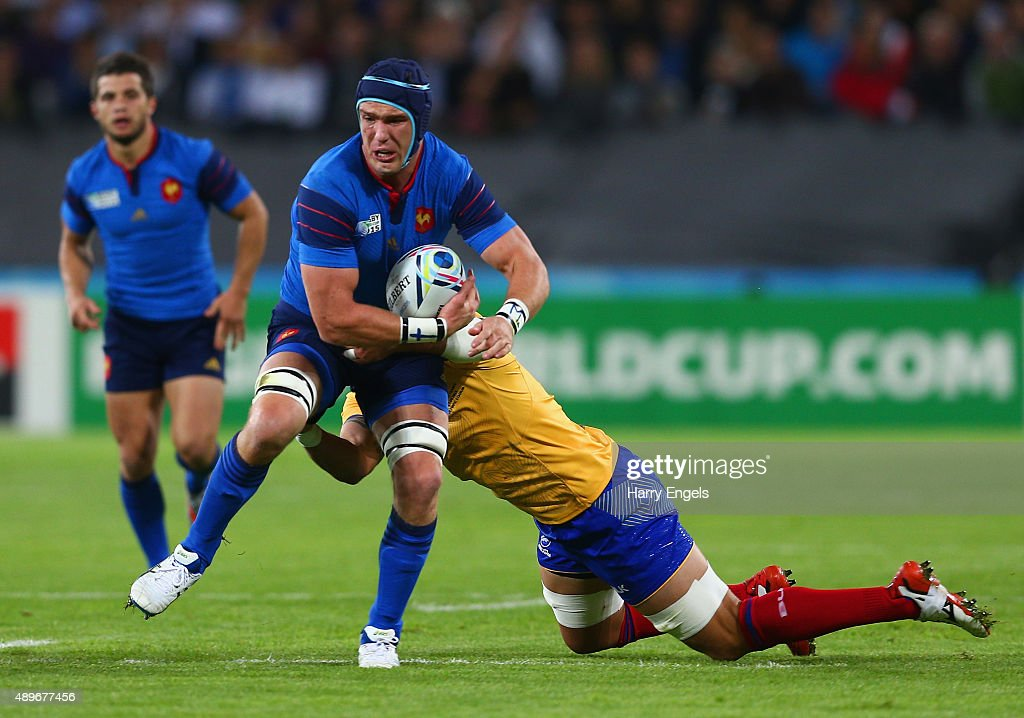 France v Romania - Group D: Rugby World Cup 2015 : News Photo