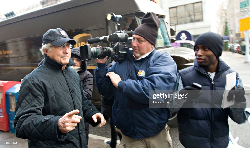 Millionaire investor Bernie Madoff was arrested on fraud charges on 11 December 2008