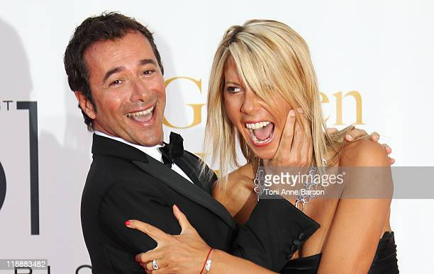 Bernard Montie and Rachel Bourlier attend the Closing Ceremony and The Golden Nymph Awards at the Grimaldi Forum on June 10 2011 in Monaco Monaco