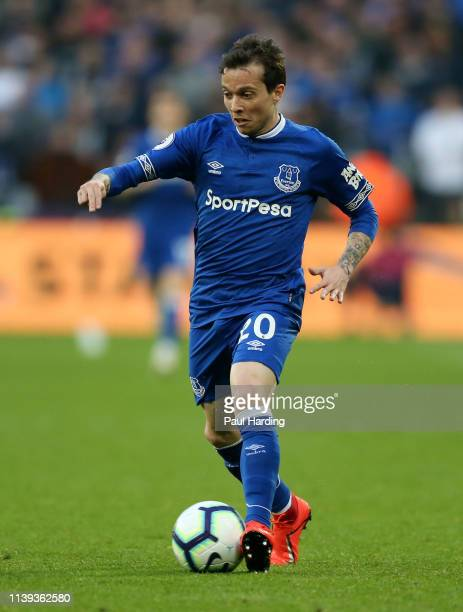 Bernard of Everton during the Premier League match between West Ham United and Everton FC at London Stadium on March 30 2019 in London United Kingdom