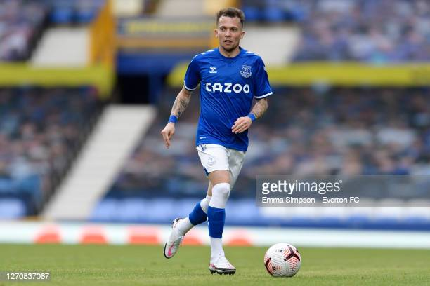 Bernard of Everton during the PreSeason Friendly match between Everton and Preston North End at Goodison Park on September 5 2020 in Liverpool England