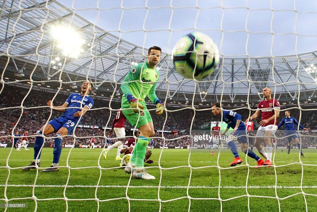 West Ham United v Everton FC - Premier League : News Photo