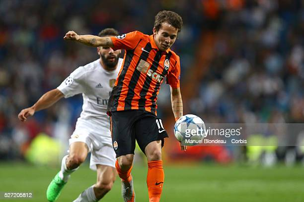 Bernard of Shakhtar Donetsk during the UEFA Champions League Group A football match between Real Madrid CF and FC Shakhtar Donetsk on September 15...