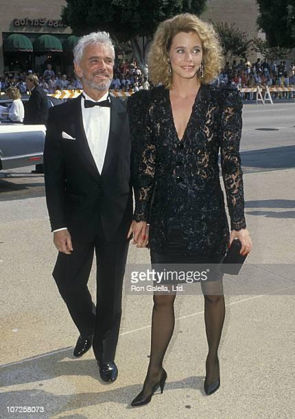 Bernard Sofronski and Susan Dey during 40th Annual Primetime Emmy Awards August 8 1988 at Pasadena Civic Auditorium in Pasadena California United...