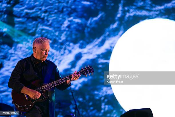 Bernard Sumner of New Order performs at Electric Picnic at Stradbally Hall Estate on September 4, 2016 in Dublin, Ireland.