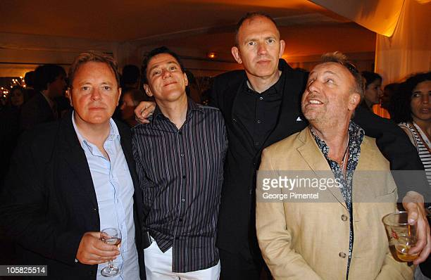 Bernard Sumner Stephen Morris Anton Corbijn and Peter Hook